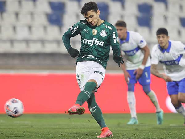 Verdão venceu o jogo de ida por 1 a 0 e pode até empatar que ficará com a classificação. Foto: Cesar Greco