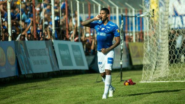 Com a camisa do Cruzeiro, Raniel marcou dezesseis gols em 88 partidas. Foto: Bruno Haddad/Cruzeiro/Via UOL