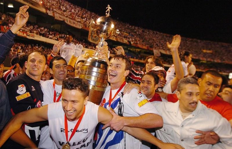 Na conquista do título de 2005, Tricolor eliminou o Verdão nas oitavas de final. Foto: Rubens Chiri/saopaulofc.net