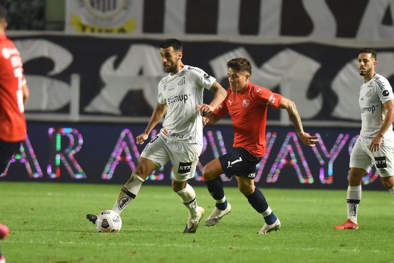 Peixe venceu a partida de ida por 1 a 0 e tem a vantagem do empate. Foto: Ivan Storti/Santos FC