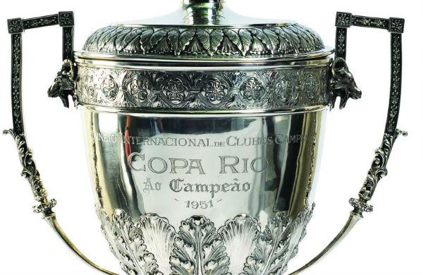A taça da Copa Rio de 1951. Foto: Divulgação