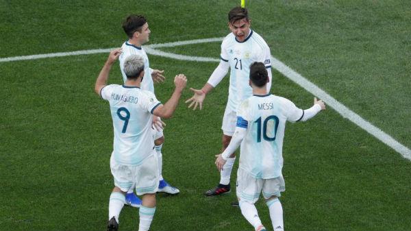 Argentina conquistou o terceiro lugar da Copa América. Foto: Ueslei Marcelino/Reuters/Via UOL