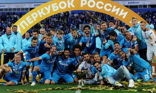 Zenit, que contou com Hulk, foi o campeão da última temporada. Foto: Divulgação