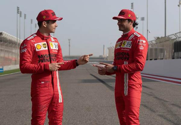 Leclerc e Sainz fazem bom trabalho pelo time italiano. Foto: Scuderia Ferrari