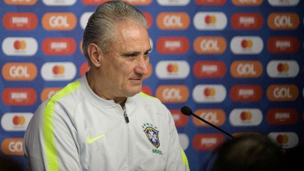 Tite não quis prolongar o assunto sobre o seu futuro na seleção. Foto: Pedro Martins/Mowa Press/Via UOL