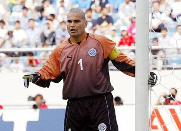 O paraguaio foi superado apenas pelo ex-goleiro basileiro. Foto: Divulgação