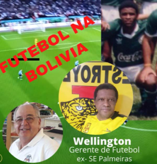 Atualmente ele é gerente de futebol na Bolívia. Divulgação