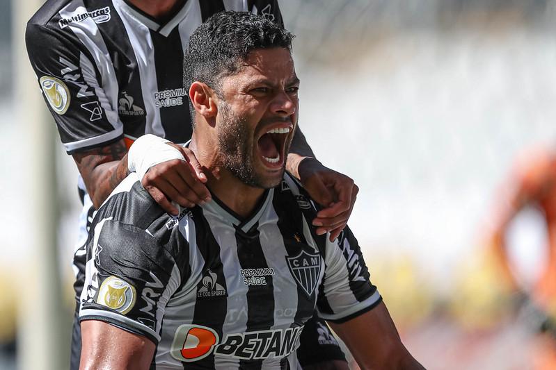 Atacante do Atlético vem jogando bem e voltou a ser pedido na seleção brasileira. Foto: Pedro Souza/Atlético