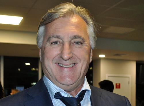 Rinaldo José Martorelli, ex-goleiro do Palmeiras e presidente do Sapesp. Foto: Marcos Júnior Micheletti/Portal TT