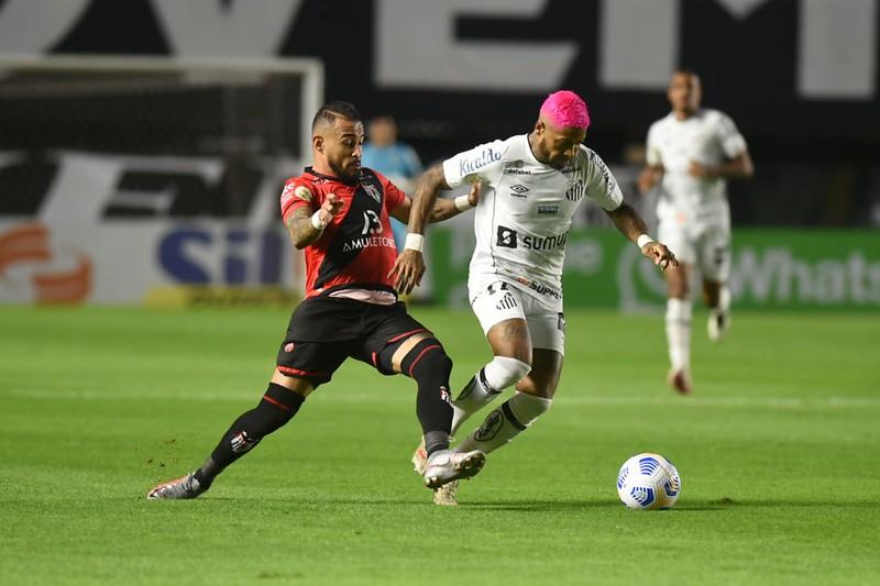 Peixe tenta voltar a vencer após três jogos. Foto: Ivan Storti/Santos FC