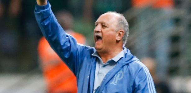 Felipão indicou permanência no Palmeiras durante o Troféu Mesa Redonda. Foto: Alexandre Schneider/Getty Images/Via UOL