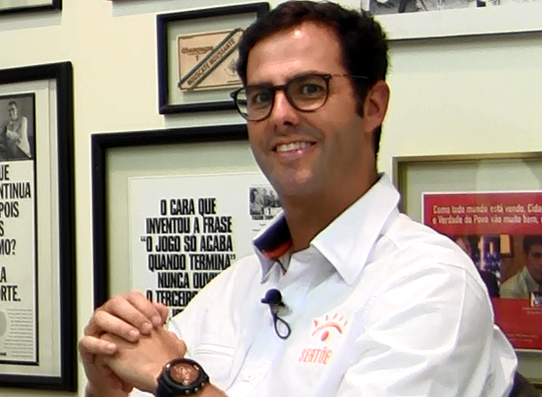 Empresário falou sobre a competição com largada no Mato Grosso do Sul e chegada no Ceará. Foto: Reprodução