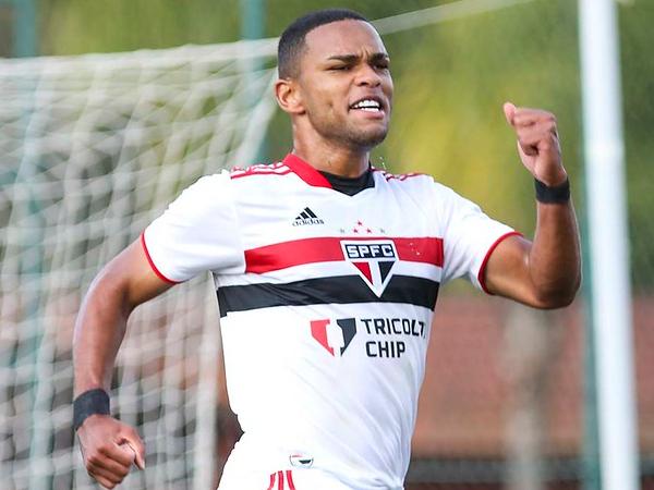 Atacante Juan integrará o time profissional do Tricolor. Foto: Anderson Rodrigues/Saopaulofc.net