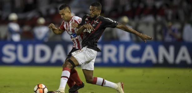 Equipes decidem o título da Sul-Americana na próxima quarta-feira. Foto: Raul Arboleda/AFP/via UOL