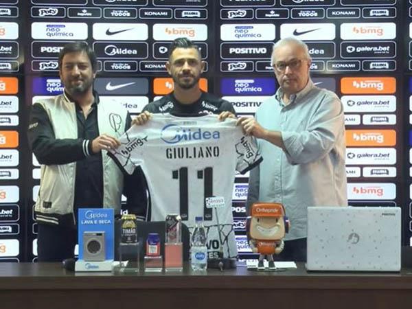 Novo camisa 11 do Timão revelou ter recebido ofertas melhores de outros clubes. Foto: Reprodução/TV Corinthians