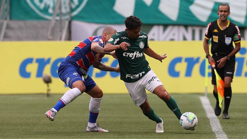Verdão é o primeiro colocado do Brasileiro com 32 pontos. Foto: Cesar Greco