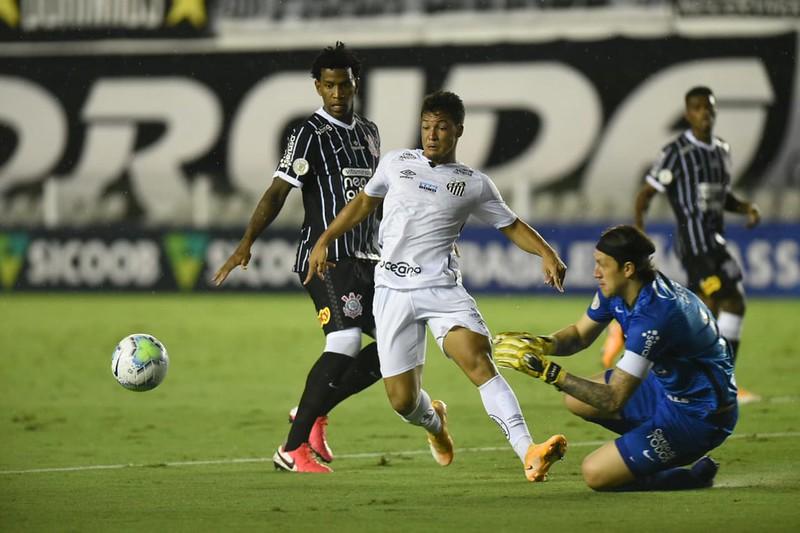 Rivais vivem momento de instabilidade no Brasileirão. Foto: Ivan Storti/Santos FC