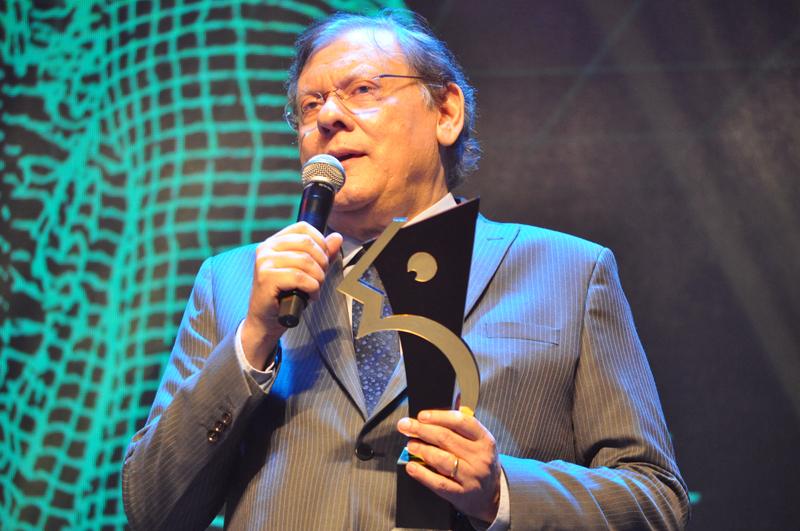 Jornalista e publicitário foi premiado em 2019. Foto: Marcos Júnior Micheletti/Portal TT
