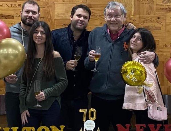 Milton Neves completou 70 anos na última sexta-feira (6). Foto: Reprodução/Instagram