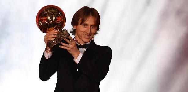 Modric superou Cristiano Ronaldo no prêmio da Fifa e no Bola de Ouro