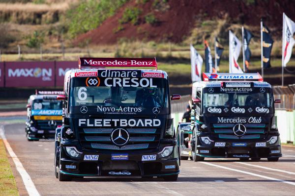 Wellington Cirino lidera o campeonato. Foto: Duda Bairros/Copa Truck