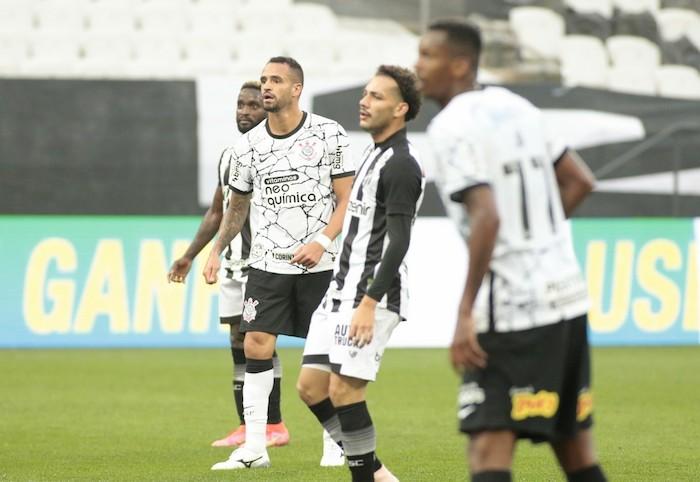 Renato Augusto, que marcou um golaço em sua reestreia pelo Timão. Foto: Rodrigo Coca/Ag. Corinthians