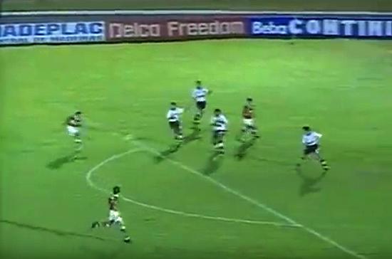 Equipe alvinegra teve uma temporada ruim em 1996, ao contrário da Portuguesa, vice-campeã brasileira