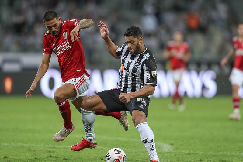 Clube mineiro é o primeiro do país a eliminar Boca e River na mesma edição do torneio. Foto: Pedro Souza/Atlético
