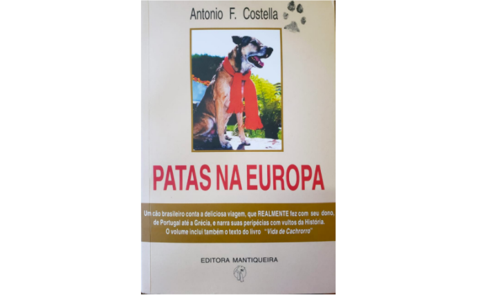 O livro tem como narrador um cão. E também forte ligação com o Museu Casa da Xilogravura