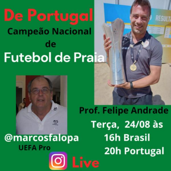 Atualmente ele trabalha em Portugal
