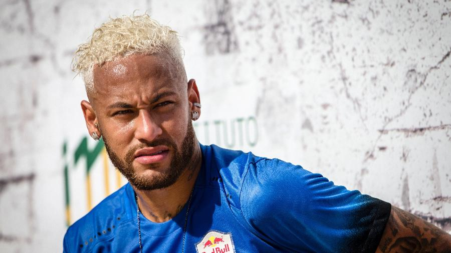 Neymar durante evento Neymar Jr´s Five 2019