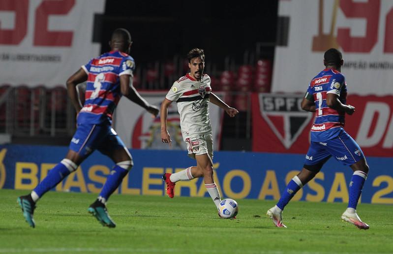 No último encontro entre as duas equipes, vitória do Leão por 1 a 0 pelo Brasileiro. Foto: Rubens Chiri/saopaulofc.net