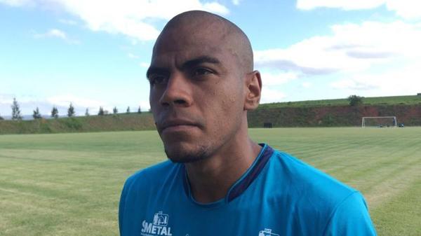 Lateral-direito Régis vinha atuando como titular do São Bento na Série B. Foto: Divulgação/EC São Bento