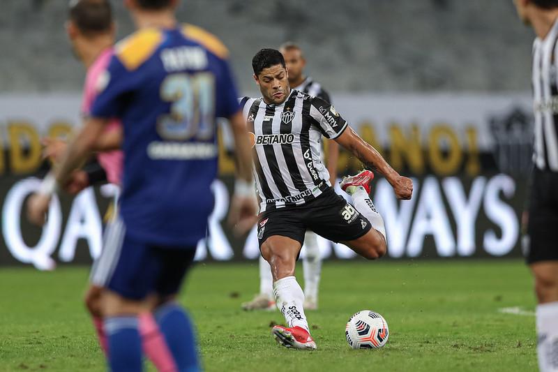 Atacante do Galo foi chamado após a não liberação de jogadores que atuam na Inglaterra. Foto: Pedro Souza/Atlético