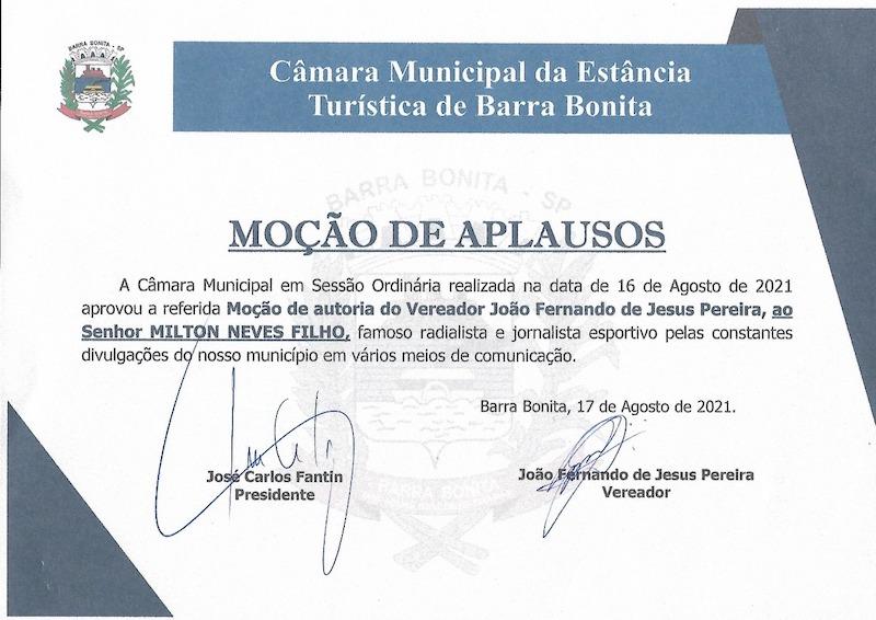 Cidade do interior paulista é sempre lembrada pelo apresentador do Grupo Bandeirantes