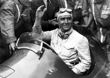 Piloto italiano ganhou a disputa interna da Alfa Romeo em 1950. Foto: Divulgação