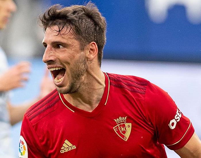Centroavante argentino jogou pela última vez em 21 de abril, pelo Osasuña. Foto: Rubens Chiri/saopaulofc.net