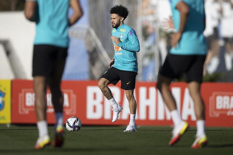Seleção brasileira não pode contar com 11 atletas vetados por clubes da Inglaterra e da Rússia. Foto: Lucas Figueiredo/CBF