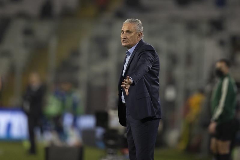 """Treinador brasileiro destacou que faltou """"coordenação dos movimentos"""" para a equipe. Foto: Lucas Figueiredo/CBF"""