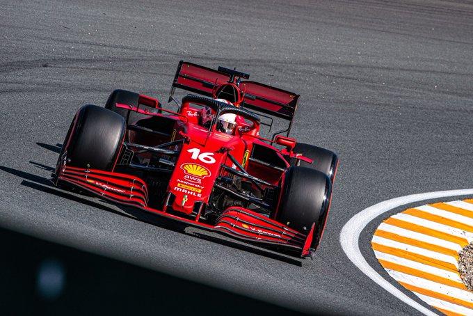Monegasco foi o único a andar abaixo de 1min11s. Foto: Scuderia Ferrari