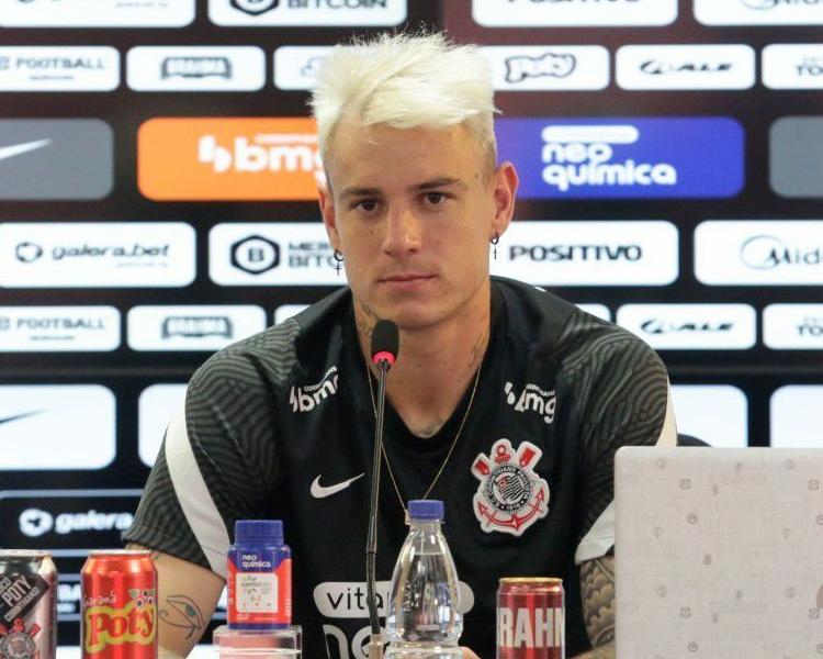 Novo atacante do Timão disse ter voltado ao Brasil para disputar chamar a atenção de Tite. Foto: Rodrigo Coca/Ag Corinthians