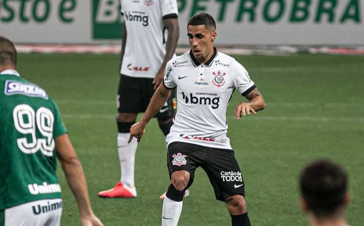 Gabriel Girotto, volante do Corinthians desde 2017. Foto: Rodrigo Coca/Ag. Corinthians