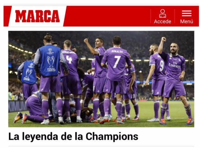 Brilhou a estrela de CR7 e o Real Madrid manteve a supremacia do futebol europeu