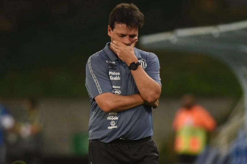 Direção santista deseja ter um nome para o lugar de Diniz até o jogo contra o Bahia. Foto: Ivan Storti/Santos FC