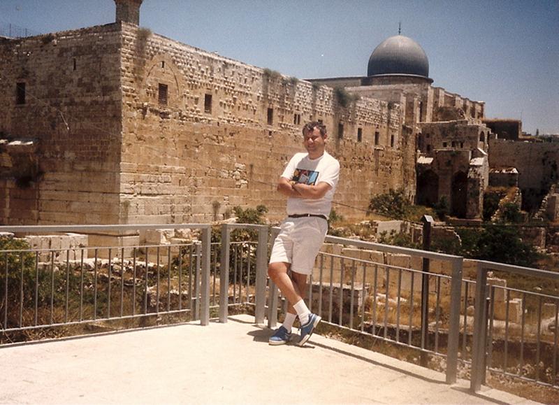 MIlton Neves esteve em Israel em três Macabíadas, 1985, 1989 e 1993