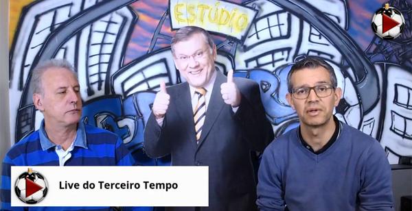 João Antonio e Frank Fortes debateram os jogos da noite pela competição. Foto: Reprodução
