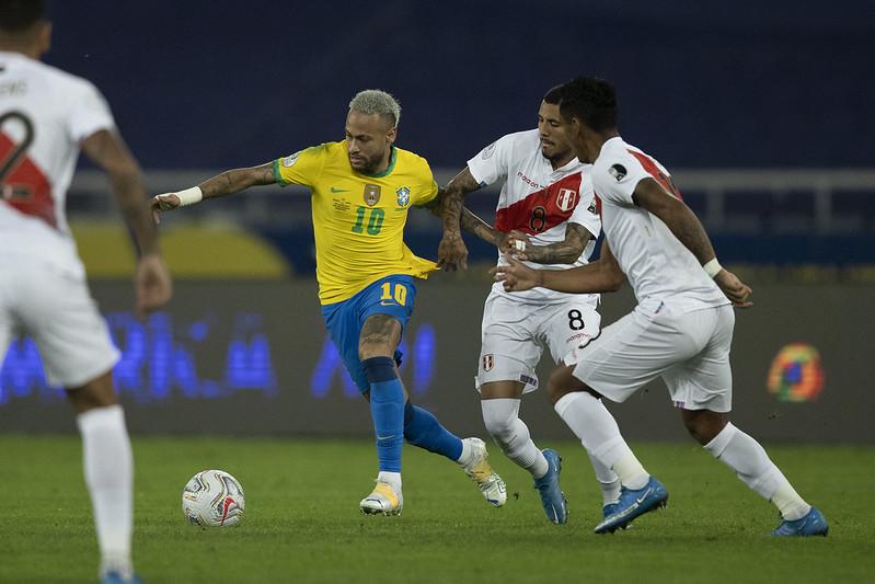 Seleção brasileira lidera a competição com 100% de aproveitamento. Foto: Lucas Figueiredo/CBF