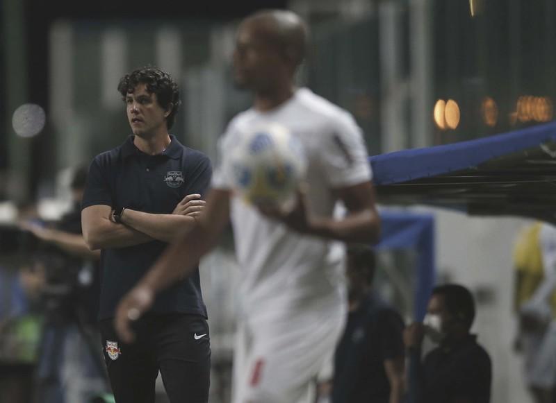 O Red Bull Bragantino é o clube com trabalho mais longevo de um treinador na primeira divisão. Foto: Ari Ferreira/Red Bull Bragantino