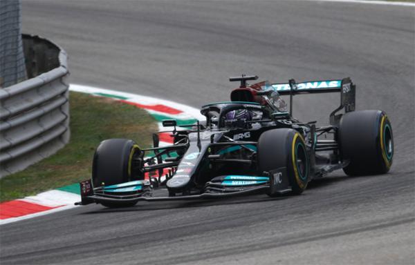 Britânico começou bem o final de semana em Monza. Foto: Mercedes-AMG Petronas F1