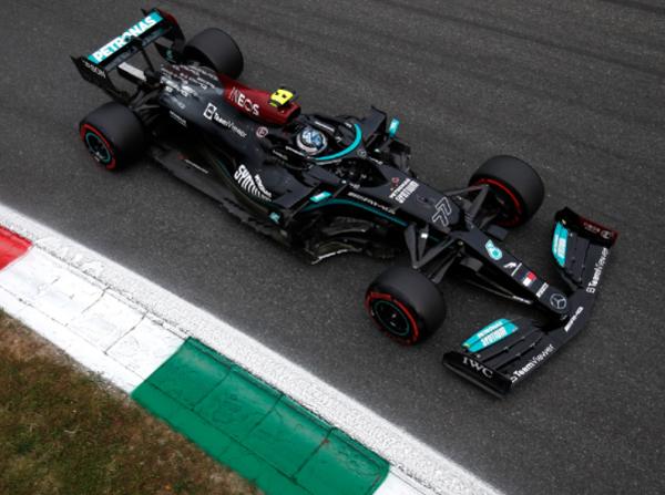Finlandês fez uma volta perfeita no circuito italiano. Foto: Mercedes-AMG Petronas F1